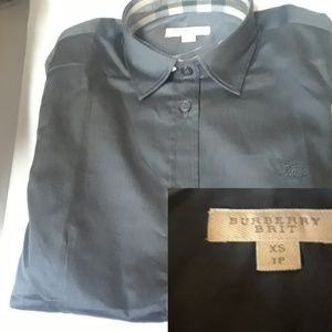 BURBERRY BRIT CASUAL SHIRT WOMEN NWT %100 COTTON